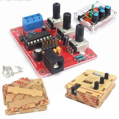 Function Signal Generator DIY Kit Output 1Hz-1MHz Signal Generator  Adjustable Frequency Amplitude XR2206