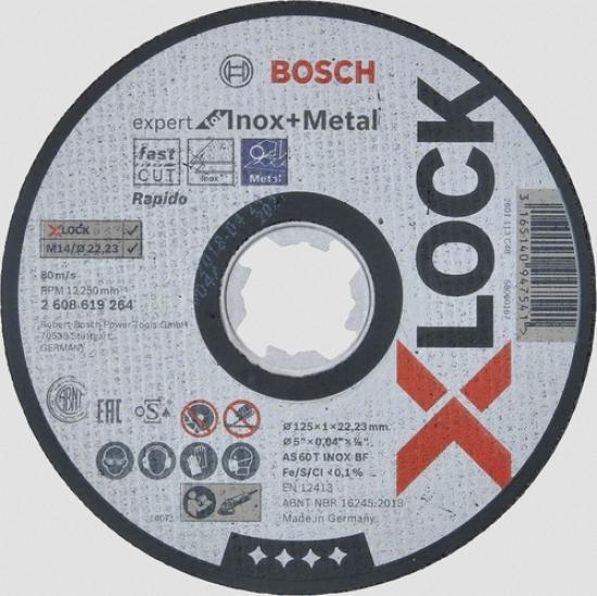 BOSCH Trennscheibe Expert for Inox A 60 R INOX BF 76 mm 10 mm 1 mm