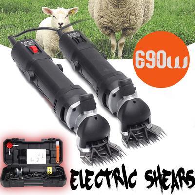 690W 220V Electric Shearing Clipper Animal Sheep Goat Pet Farm Machine Practical