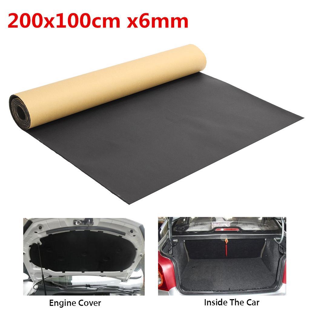 200x100cm 6mm Auto Car Sound Deadening Cotton Mat Heat Insulation Sound Proof Pad Foam Interior Buy From 67 On Joom E Commerce Platform