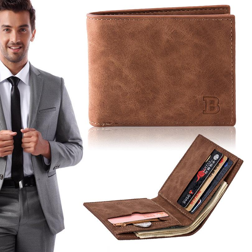 Baborry Fashion Mini Men/'s Luxury Business Wallets Card Holder Man NT