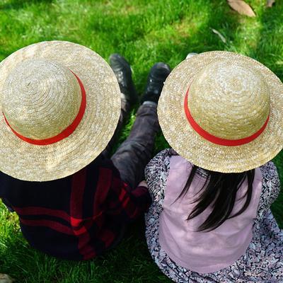 54bf4ea2dc2 Fashion Simple Children Boys Girls Straw Cap Sun Hat Ultraviolet-proof  Beach Cap
