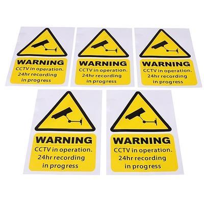 10pcs Taxi//Minicab Warning Stickers-NO SMOKING Drinking-Cab CCTV Sign 205x 87mm