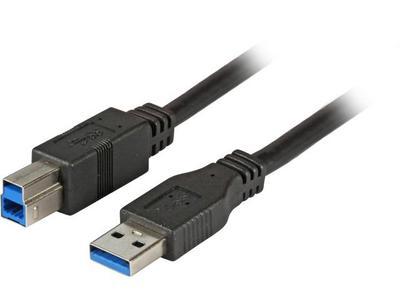 EFB Elektronik USB 2.0 A//Mini B 3m USB Cable A Mini-USB B Black