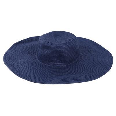 Mujeres lindo verano paja playa sombrero ala ancha grande plegable sombrero 66f1d3c9e340