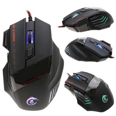 Ouyilu New Portable Professional USB Wired Optical Gaming Mouse Mice For Desktop