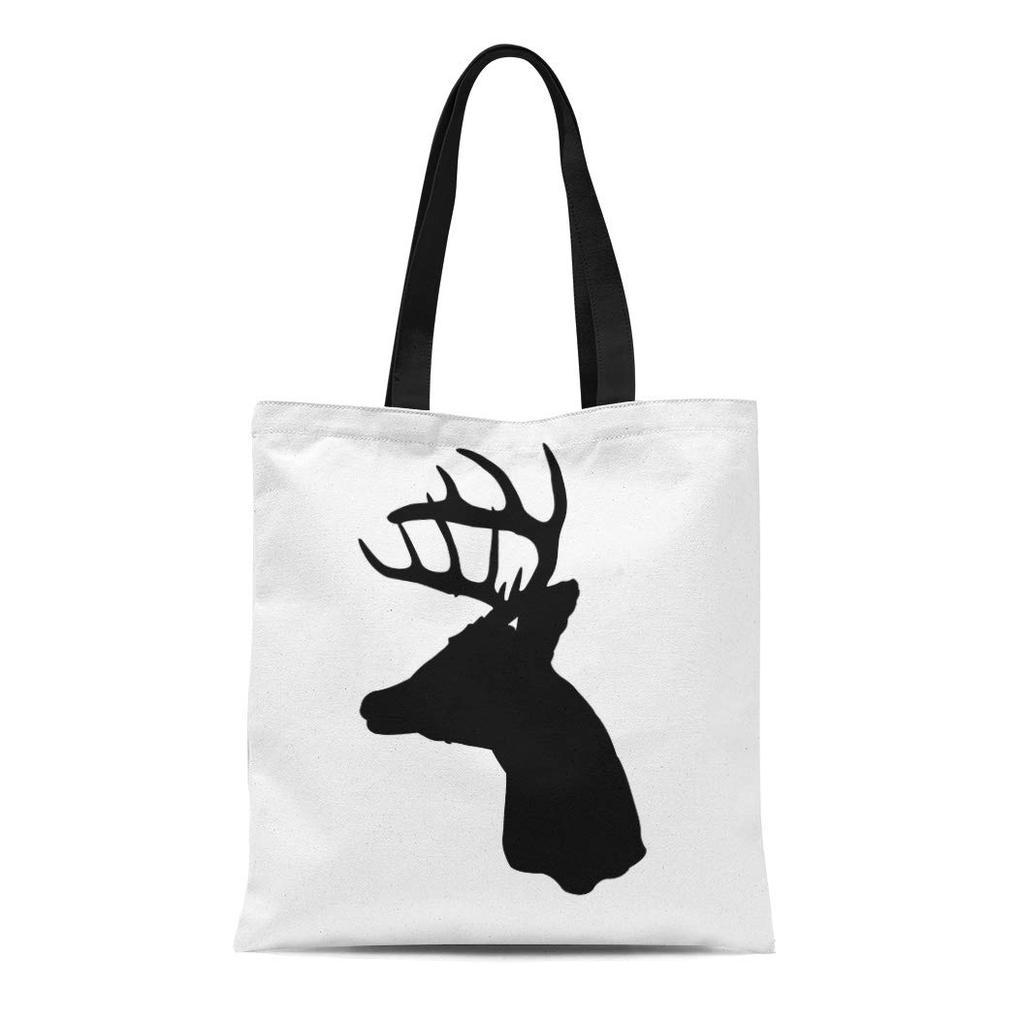 My Daily Women Tote Shoulder Bag Male Deer With Big Antlers Handbag
