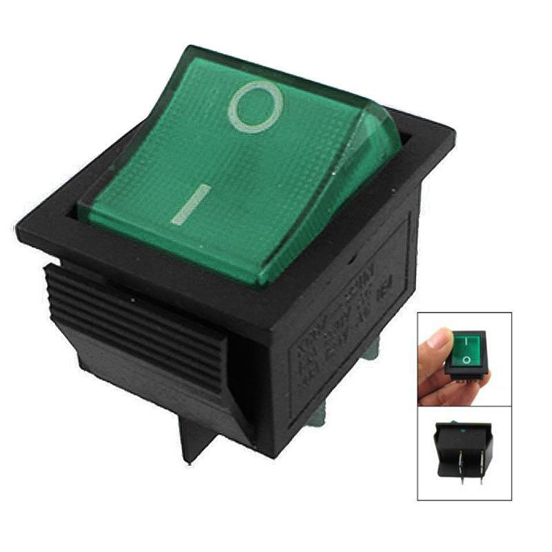 Unterbrecher Licht 4 Pin DPST ein-/Snap in Rocker Schalter 15A 30A ...