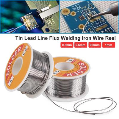 """100g//Roll Tin Lead Rosin Core Solder Wire Electrical 2.0/% Flux 0.059/""""//1.5mm"""