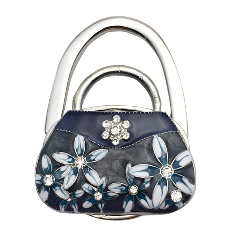 Paradis Tropical Handbag Table Hook Table Hook Folding Bag Desk Hanger Foldable Holder