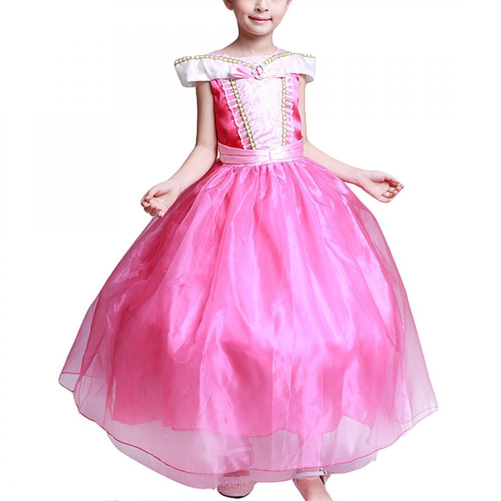 Vestido de traje de chicas belleza Princesa Aurora partido durmiente ...