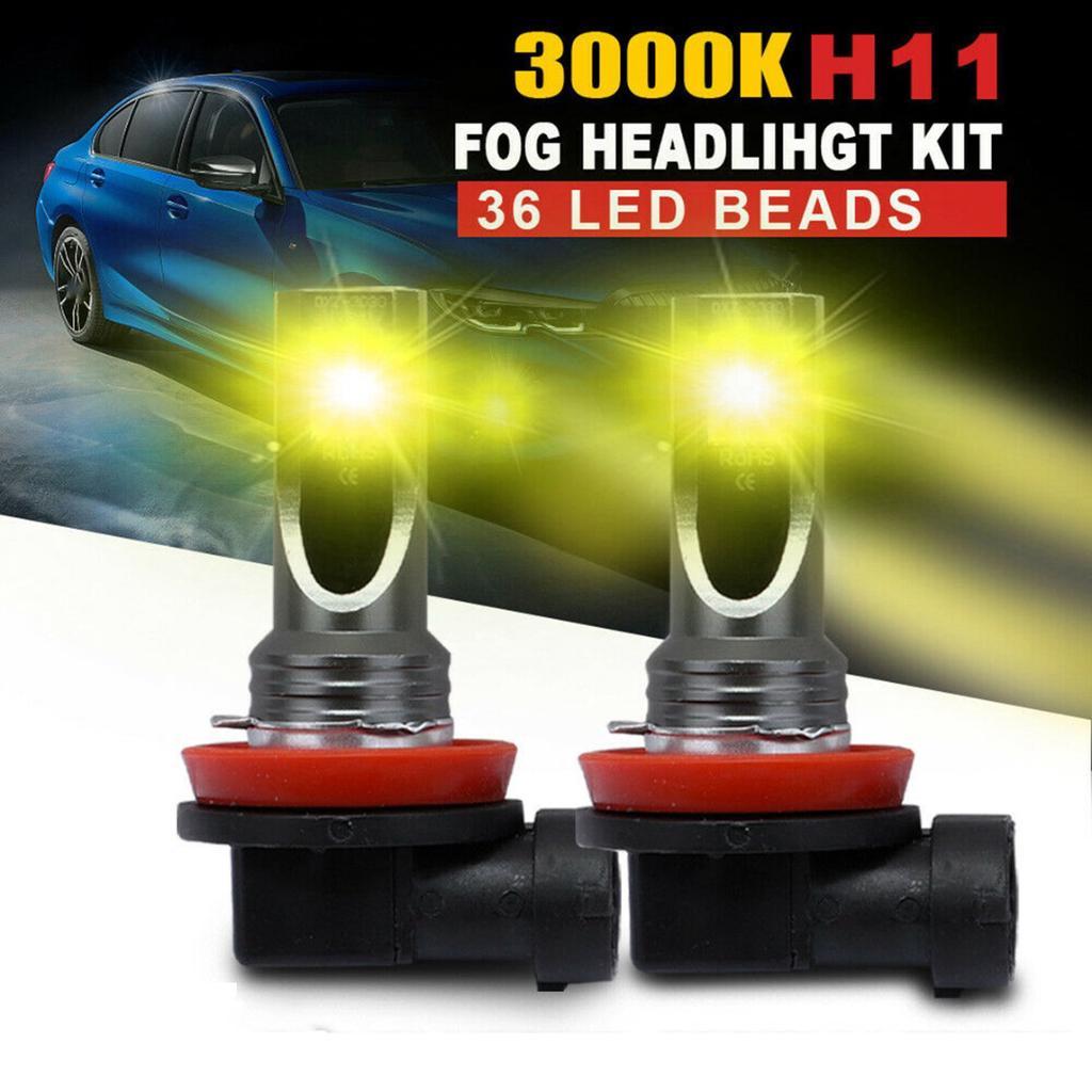H11 LED Headlight Bulb Fog Light Conversion 110W 8000LM 6000K Driving DRL Lamp