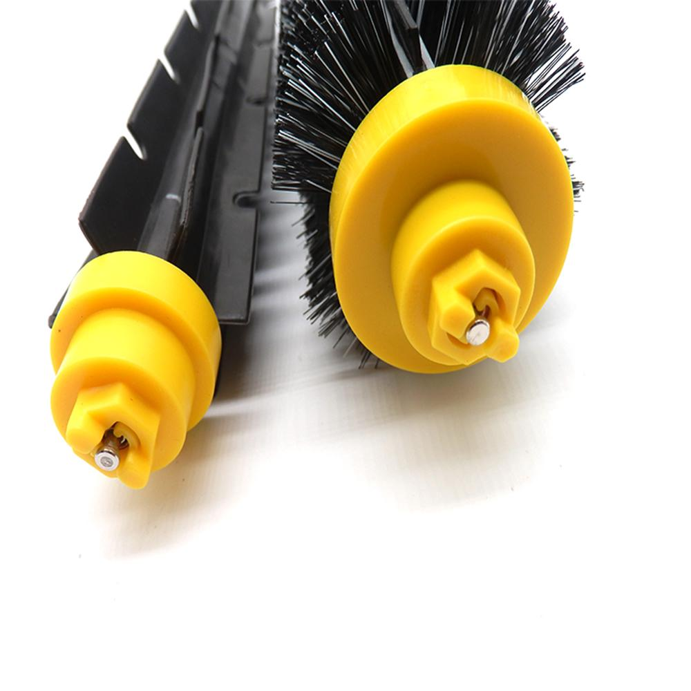 Fulision Replacement Bristle and Flexible Beater Brush for iRobot Roomba 600 and 700 Series