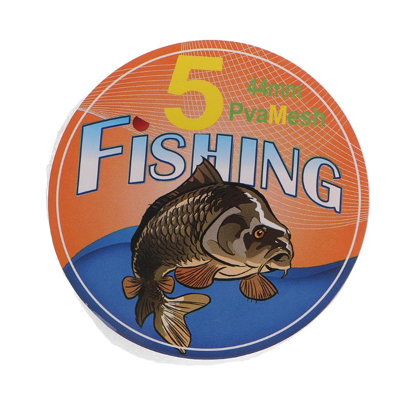 25mm*5Meter Mesh PVA Refill Carp Fishing Stocking Rig Bags Wrap   Bait