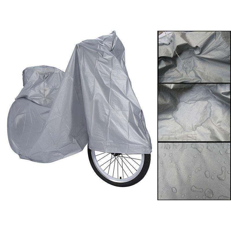 1pc Motorcycle Cover Bike Waterproof Outdoor Rain Dust Bicycle Scooter Protector