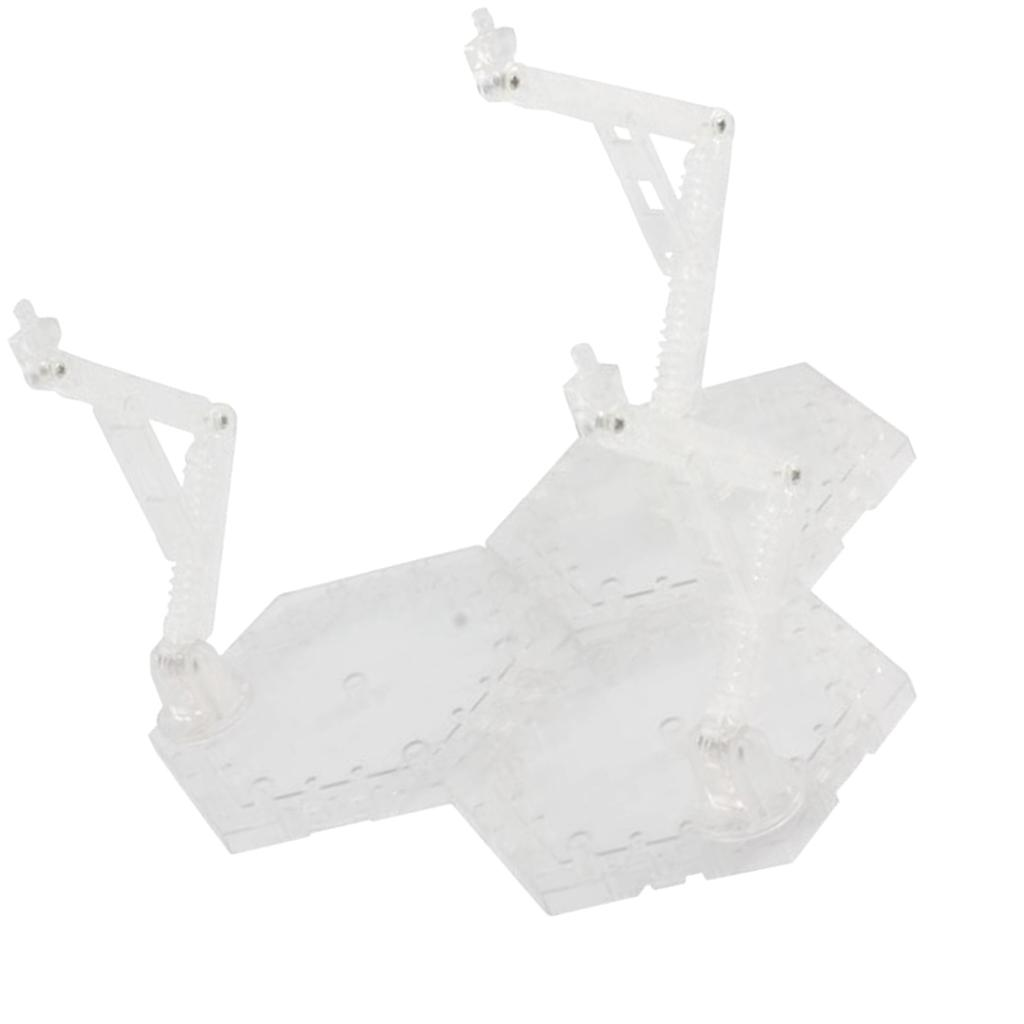 Action Figure Display Stand Holder Rack For 1//144 1//100 BB//HG//RG Gundam Toys