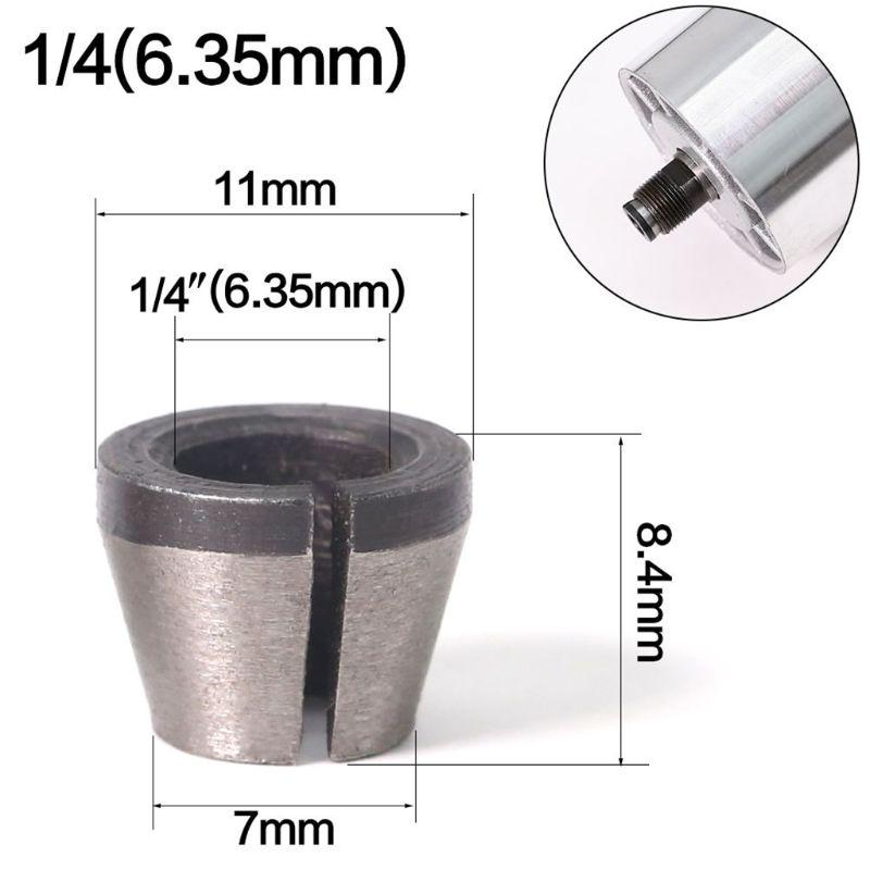 6mm Shank to 6mm bits Router Collet Extension Engraving machine extension rod