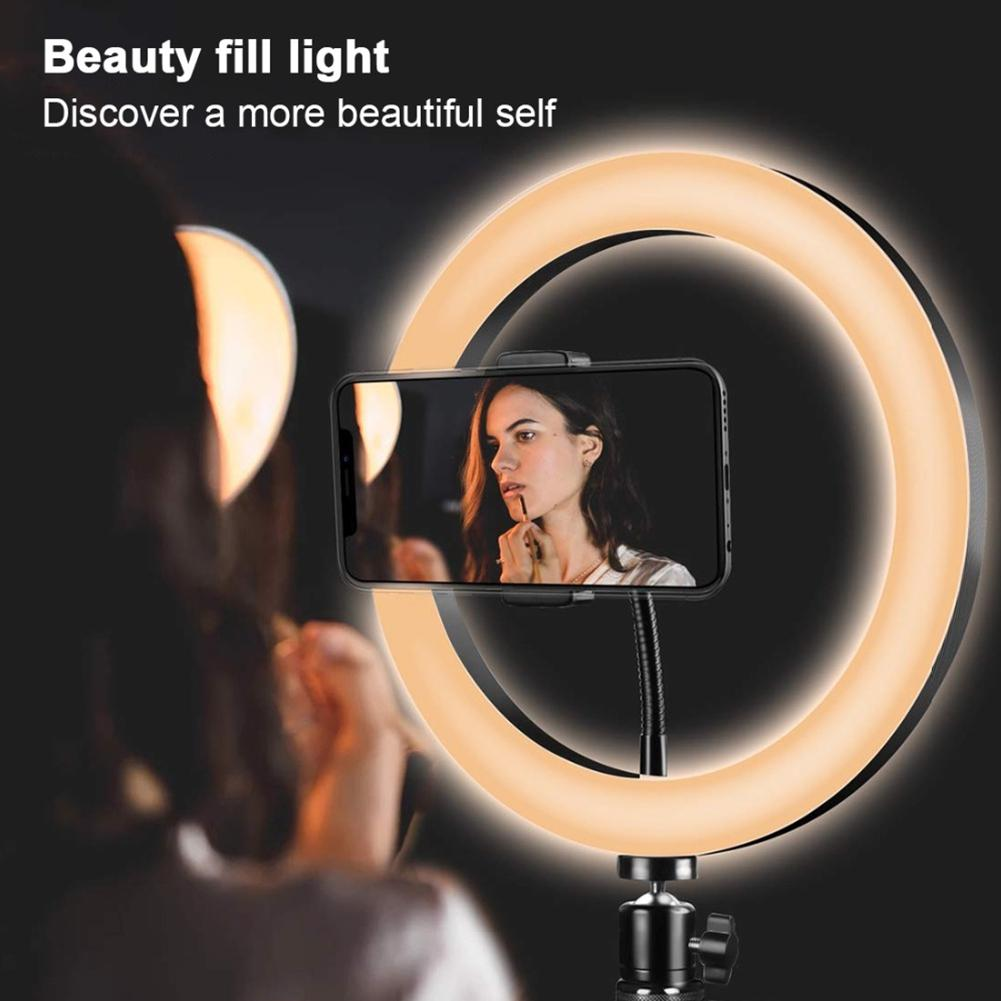Fill Light Beauty Portraiture Arms Makeup Light Video Shooting Portable LED Fill Light Selfie Light USB Net Red Live Video Live Stream Lighting