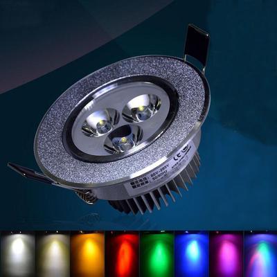 3W LED versenkte Decke Down Birne Spot Licht Lampe Living Office ...