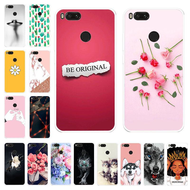 Дела Akabeila Телефон Xiaomi Mi A1 ми 5 X Xiaomi Mi5s плюс про премьер Обложка силикон случае мило Сумка