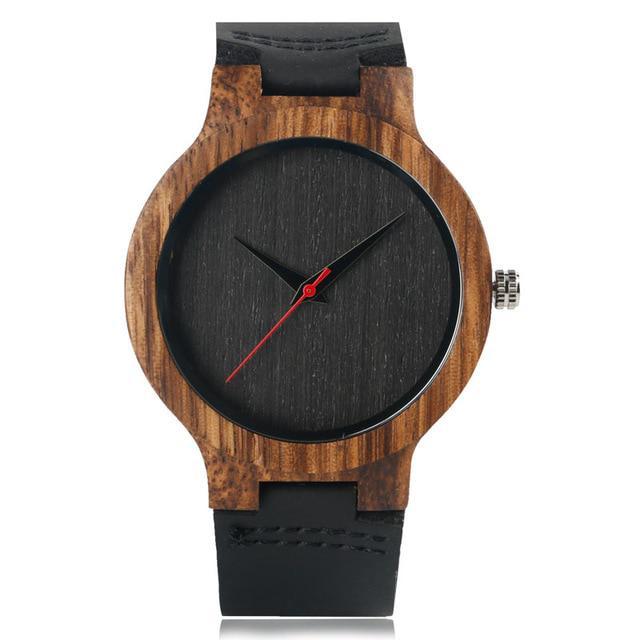 553d6c25cb2 Madeira presente Top relógios 100% natureza única de madeira bambu ...