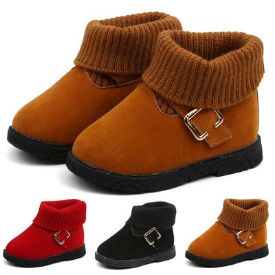 Winter Cute Toddler Infant Baby Boys Girls Kids Snow Boots Waterproof Warm Shoes