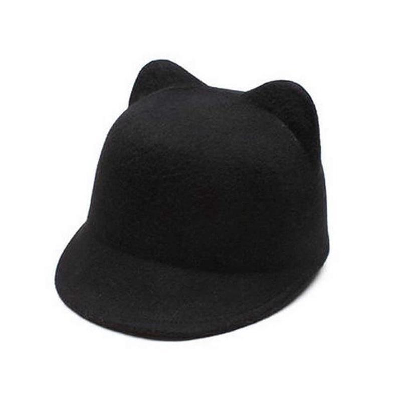 Casual Newborn Baby Sun Hat Girls Cute Rabbit Ear Striped Sun Hats Fisherman CB