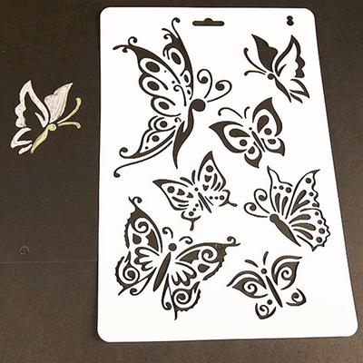 Decorative Embossing Butterfly Stencils Paper Cards Stamps Album Scrapbooking