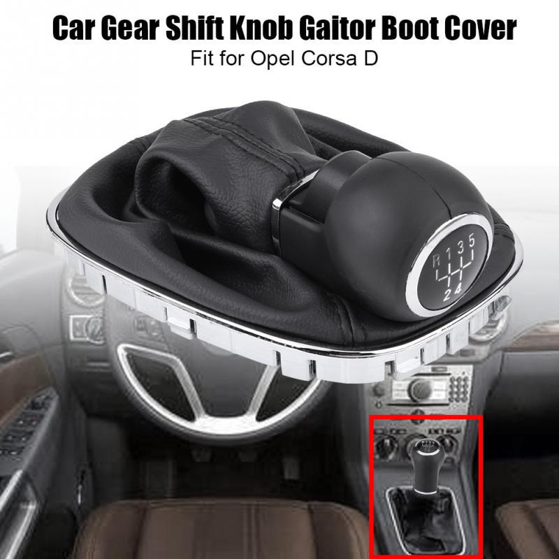 Car Gear Shift Knob Lever Stick Gaitor Boot Cover for D 009140093 19276456 Gear Shift Knob