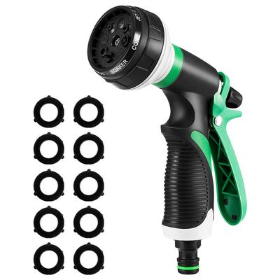 Garden Hose Nozzle Watering Spray High Pressure Water Sprinkler With 8 Patterns Buy At A Low Prices On Joom E Commerce Platform