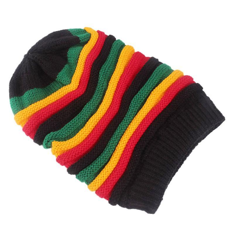 Funny Jamaican Pineapple Cat Men /& Women Skull Caps Winter Warm Stretchy Knitting Beanie Hats