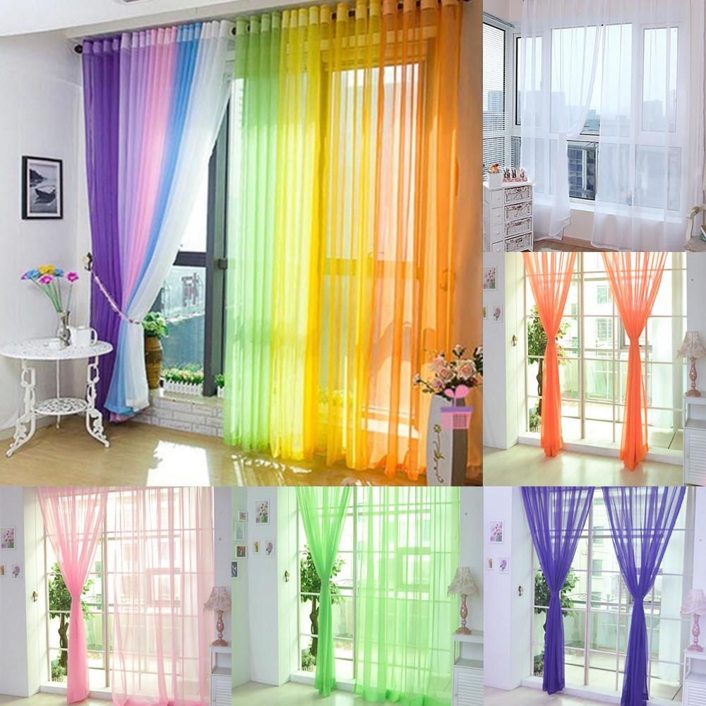 floral beautiful p chenille curtains long green lime blue living room country breathable embroidery valance baby custom for