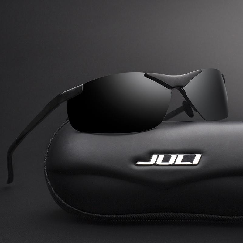ebf22a931f70c JULI Polarized Sunglasses Mens Brand Designer Fashion Driving Sun Glasses  Oculos Male Sunglasses-buy at a low prices on Joom e-commerce platform