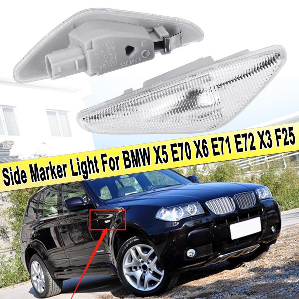 Led Side Marker Light Turn Signals Clear Emark For Bmw X5 E70 X6 E71 E72 X3 F25 Buy At A Low Prices On Joom E Commerce Platform