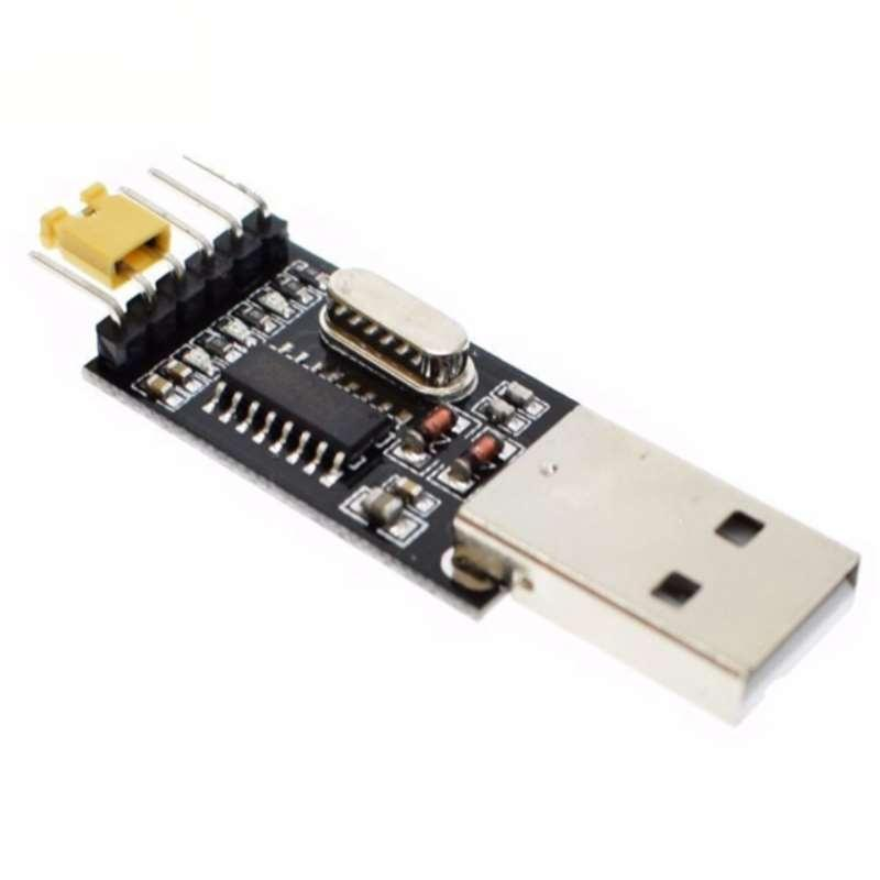 5pcs USB to Serial USB to TTL CH340 Module with STC Microcontroller Download Adapter