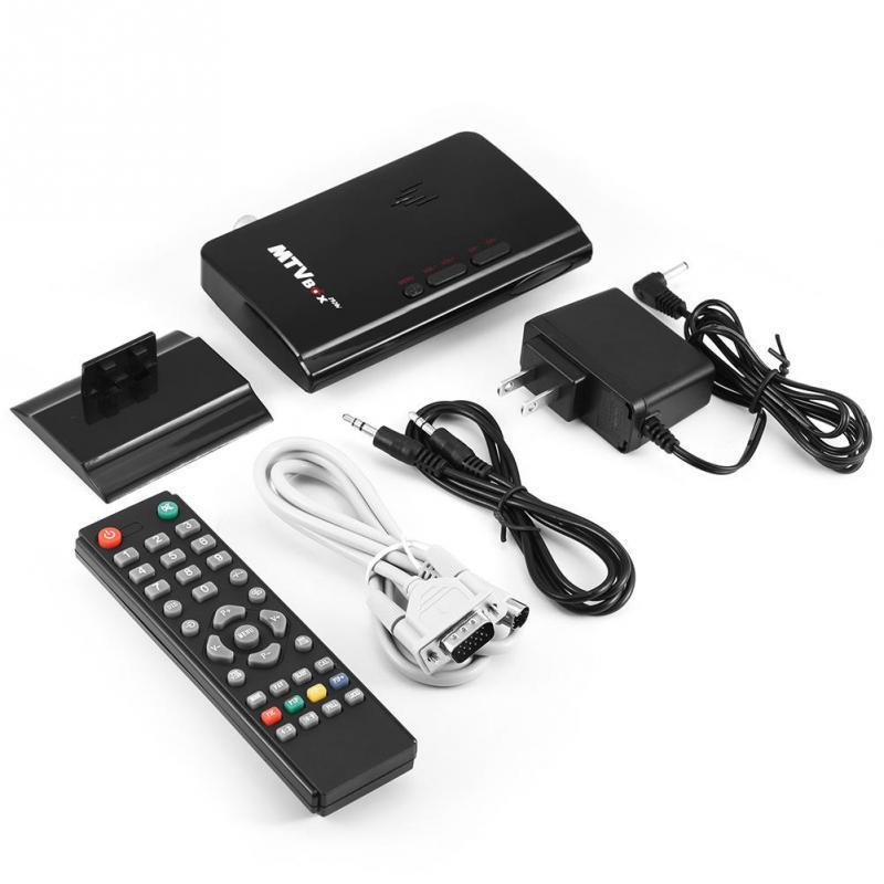 External HD LCD CRT VGA TV PC Monitor Program Receiver Tuner Box US Plug