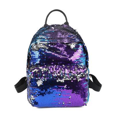 b06f4074d1c2 Yogodlns женщин блестками рюкзак досуг Bookbags кожа случайные ранцы ...