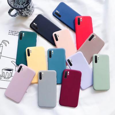Ultra Slim Shockproof Soft Back Case Cover Samsung A50 A70 Note 10 Plus S10 S9 S8 Plus A20 A30 A20E