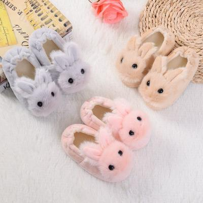 LONSANT Toddler Infant Kids Baby Warm Shoes Boys Girls Cartoon Soft-Soled Slippers