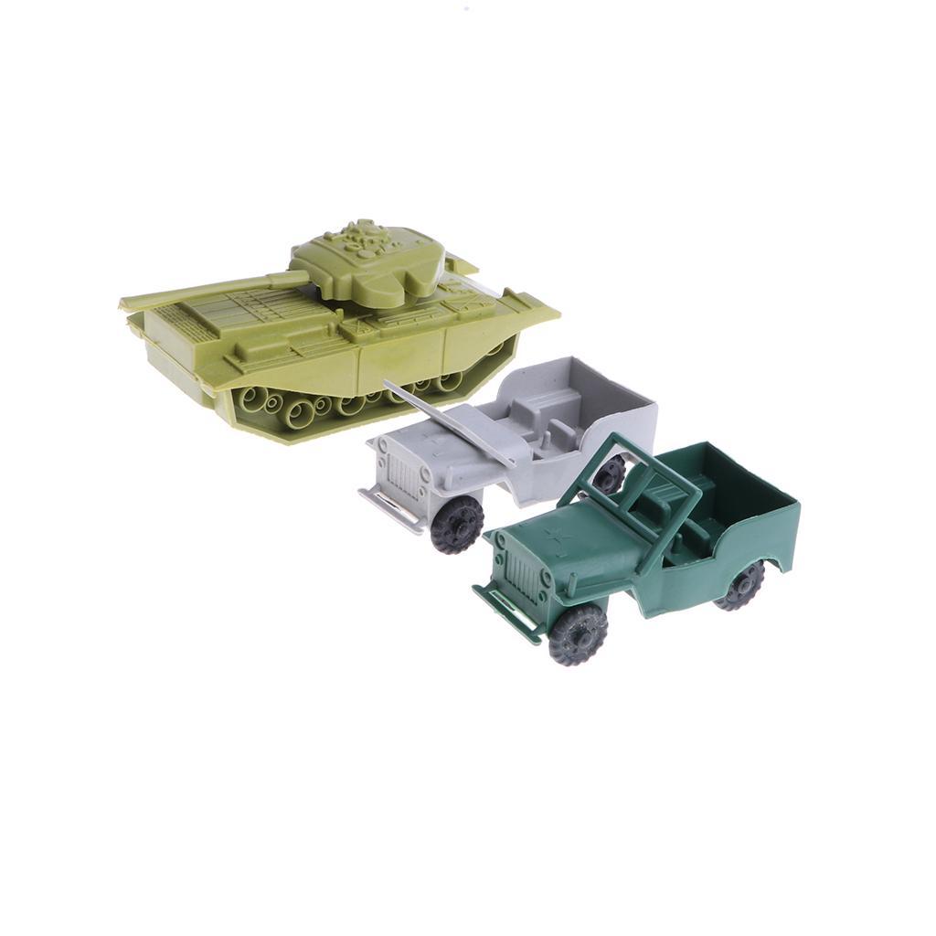 10 Pcs Military Missile Tank Toy Simulation ATGM Children Birthday Gifts
