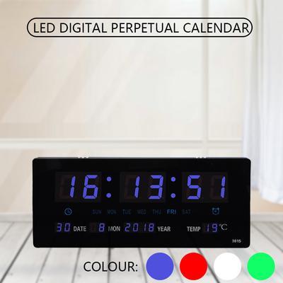 Electronic Wall Clock Electronic Perpetual Calendar LED Digital Perpetual Calendar Gift Perpetual Calendar Desk Hanging Smart Perpetual Calendar