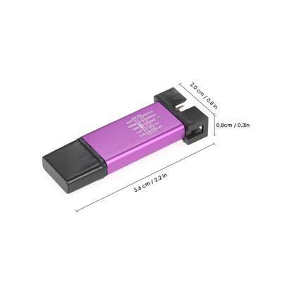 Mini Emulator Downloader STM8 STM32 w// Dupont Cable per ST-Link V2 STLink TE707