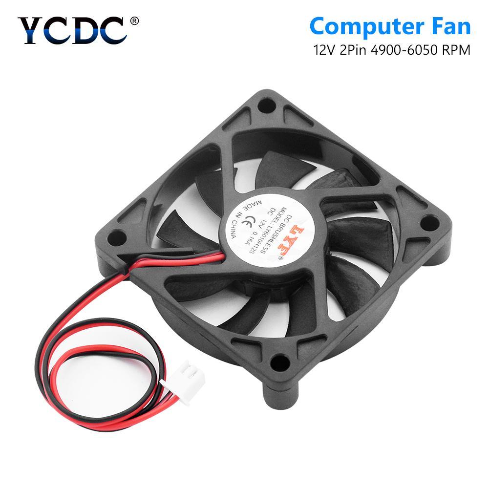 2.5 60mm 6CM x 15mm 6015s DC Brushless Ventilation Cooler Fan 24V 2Pin