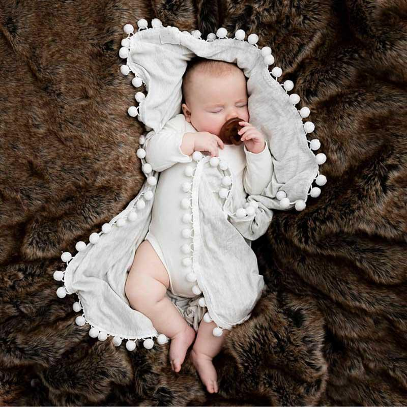 Toddler Infant Baby Sleep Appease Towel Blanket Animal Soft Plush Z