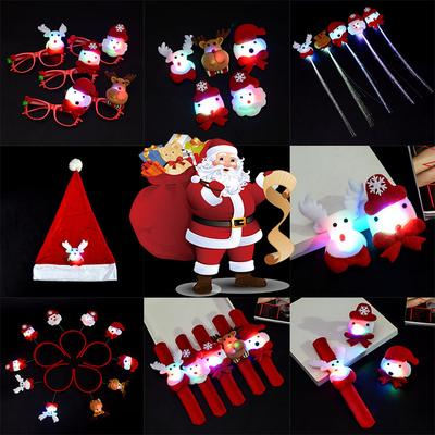 Hat Accessories Headband Light Glasses Up For Brooch Pen Party Holiday Christmas Decoration House