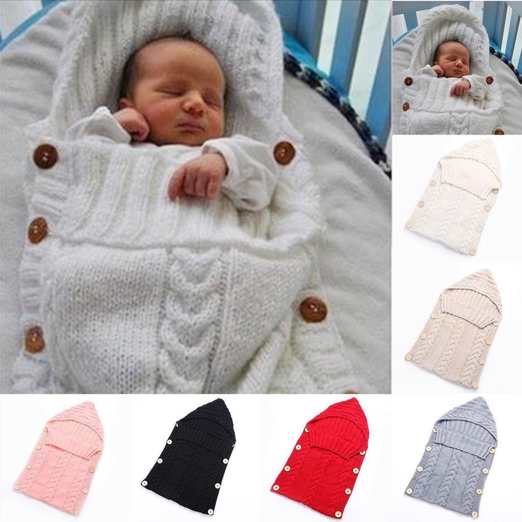 Bolsa caliente Swaddle Wrap bebé manta recién nacido bebé punto ...