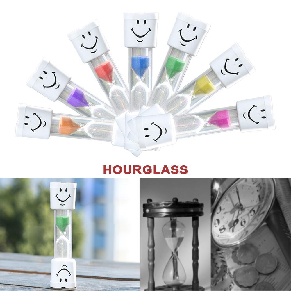 Coloré 5pcs Hourglass Sable HORLOGE Timers 30 seconde//1//3//5//10 minutes
