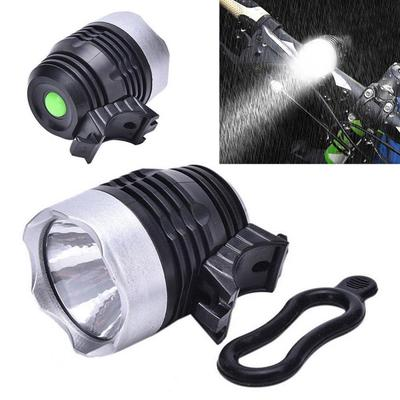 Cycling Bike Bicycle LED Front HEAD LIGHT Lamp Headlight Torch LARM With Mount