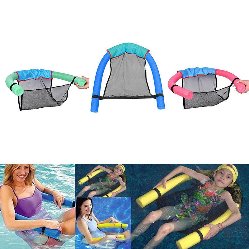 Wasser Hängematte Schwimmstuhl Pool Spielzeug für Strand Familie Pool Party