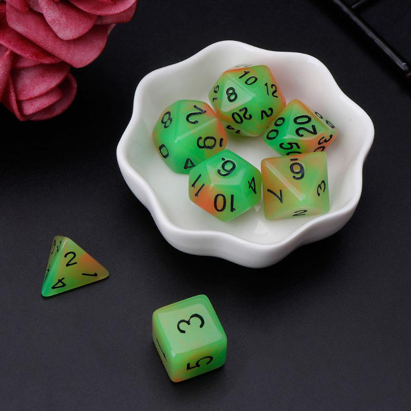 Pack of 25pcs DIY Blank 16mm Six Sided Dice D6 Playing Dungeons D/&D TRPG Game Black